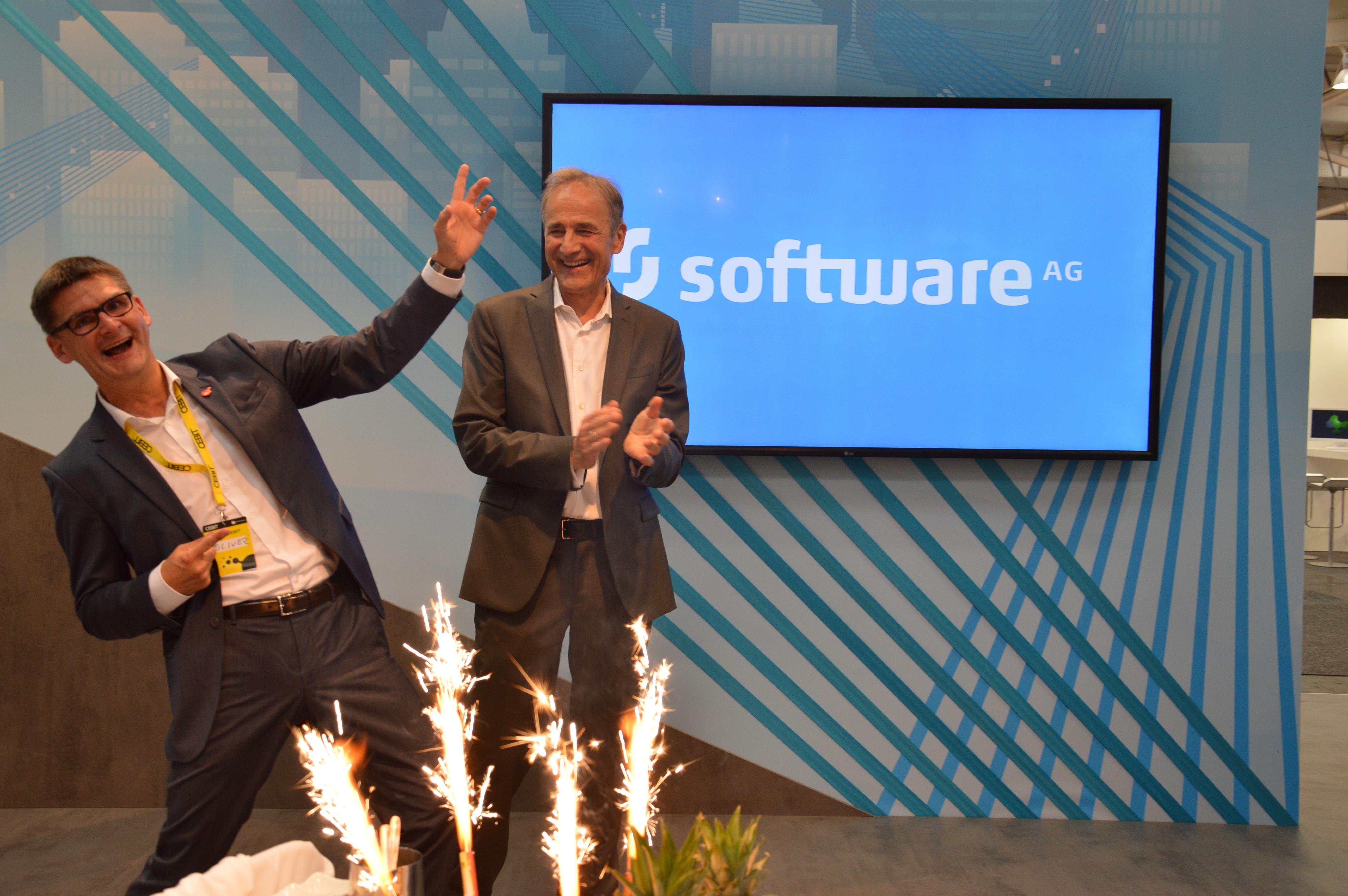 Software AG's CEO Karl-Heinz Streibich