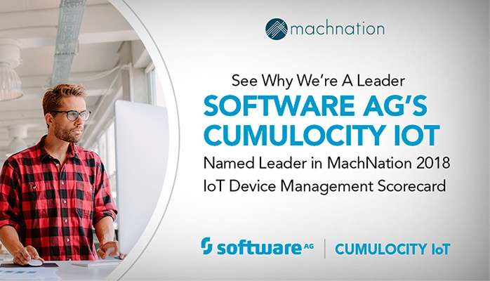 Cumulocity IoT Tops Device Management List