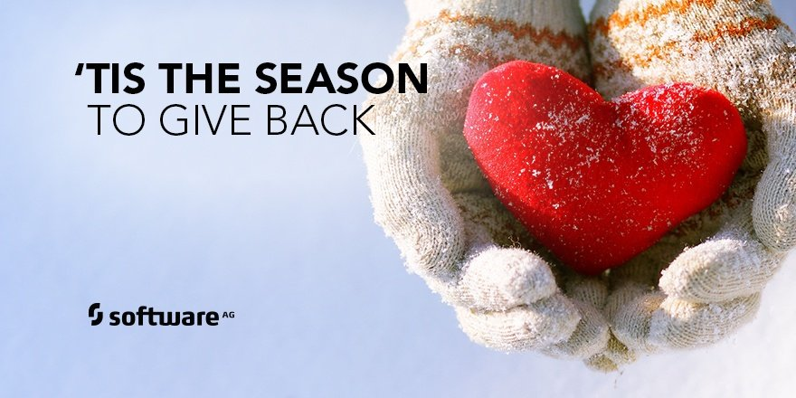At Software AG, Giving Back is Always in Season
