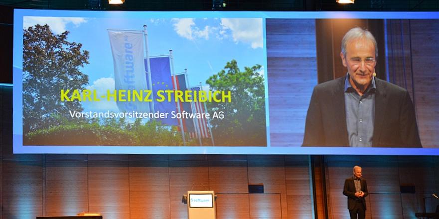CEO Karl-Heinz Streibich says Farewell