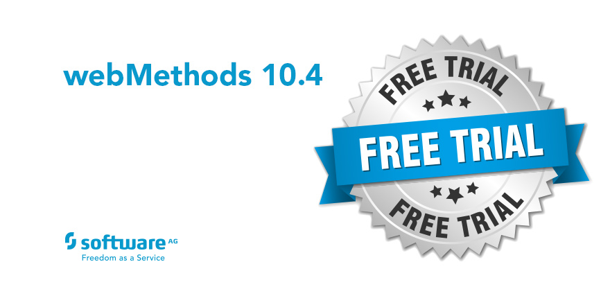 Free Trial of webMethods 10.4!