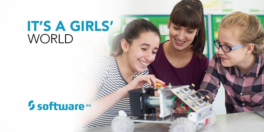 Girls' Day 2018 at Software AG