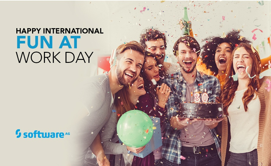 """At Software AG, Every Day is """"Fun at Work Day"""""""