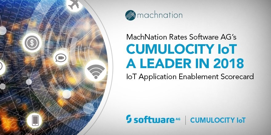Cumulocity IoT Leads the AEP Pack for IoT