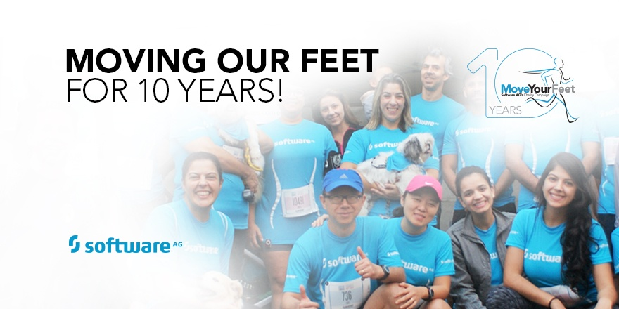 Ten Years of the Move Your Feet Campaign